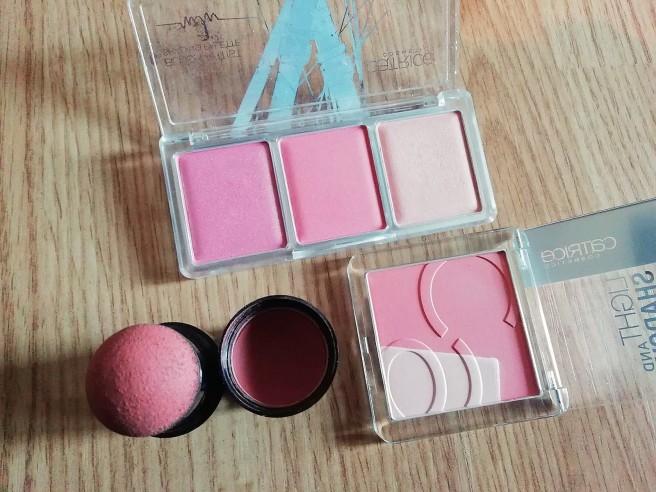 Catrice blush stash
