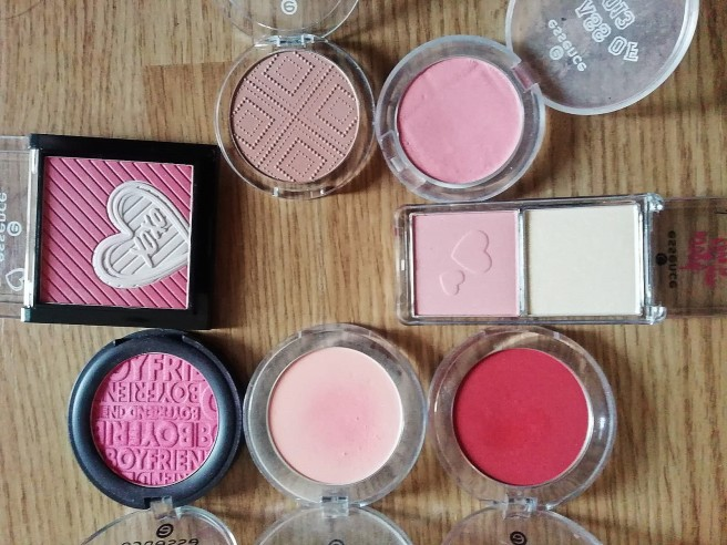 Essence stash blush