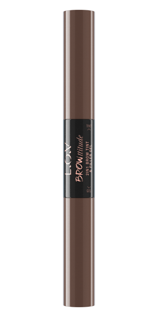 4059729043559_L.O.V BROWTTITUDE 2in1 brow tint & filler gel 110 Bold Brunette_P1_os_300dpi